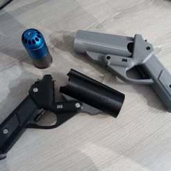 Z45-1.jpg Télécharger fichier STL Z45 Grenade Launcher • Plan à imprimer en 3D, legrobidon