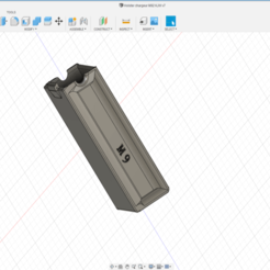 Holster Chargeur M92.png Download free STL file Holster charger M9 • 3D printing design, legrobidon