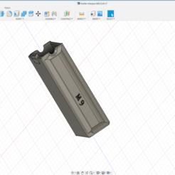 Holster Chargeur M92.png Télécharger fichier STL gratuit Holster chargeur M9 • Plan pour impression 3D, legrobidon