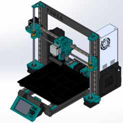 Prusa I3 MK3S MHN12.PNG Download STL file Prusa i3 MK3S MGN12 • 3D printer design, srastoul