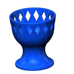 Descargar modelos 3D para imprimir Crown Egg Cup, NerdCorner