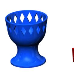 Thumbnail_Eierbecher_Bayern.png Télécharger fichier STL gratuit Coquetier • Modèle pour imprimante 3D, NerdCorner