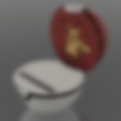 Assembly v3.stl Download free STL file Pokemon Phone Holder • 3D print design, ayilmazzobu