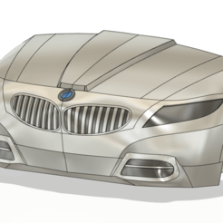 1.png Download STL file Bmw Z4 front • 3D printable template, ayilmazzobu