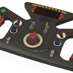 Ek Açıklama 2020-08-12 170657.png Download free STL file F1 Type Steering Wheel • 3D printing design, ayilmazzobu