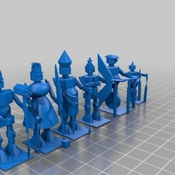 polysoup.jpg Download free STL file Bull #chess robits • 3D printer template, wolneylondres