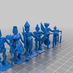polysoup.jpg Télécharger fichier STL gratuit Taureau #chess robits • Modèle à imprimer en 3D, wolneylondres
