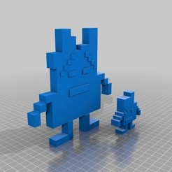 Download free 3D printing templates Ignignokt and Err, wolneylondres