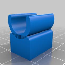 Microscope_holder_v5.png Download free STL file Supereyes Microscope Replacement Mini Tripod Clip • 3D print model, iamsanman