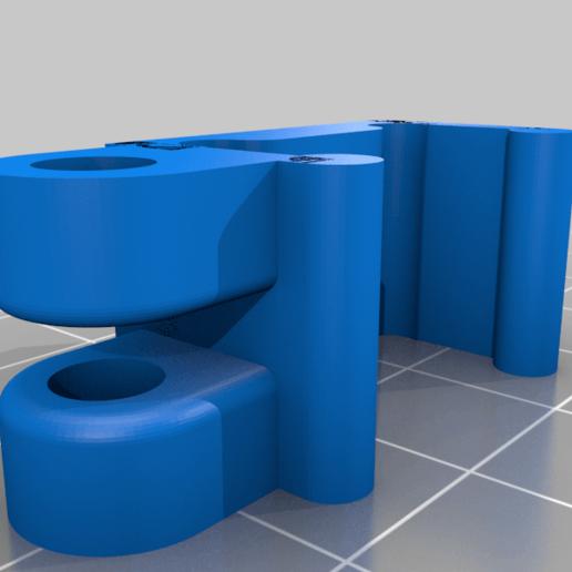 E5_-_20mm_Clip_Side_Saddle_v2.png Télécharger fichier STL gratuit Support et selle d'endoscope • Design imprimable en 3D, iamsanman