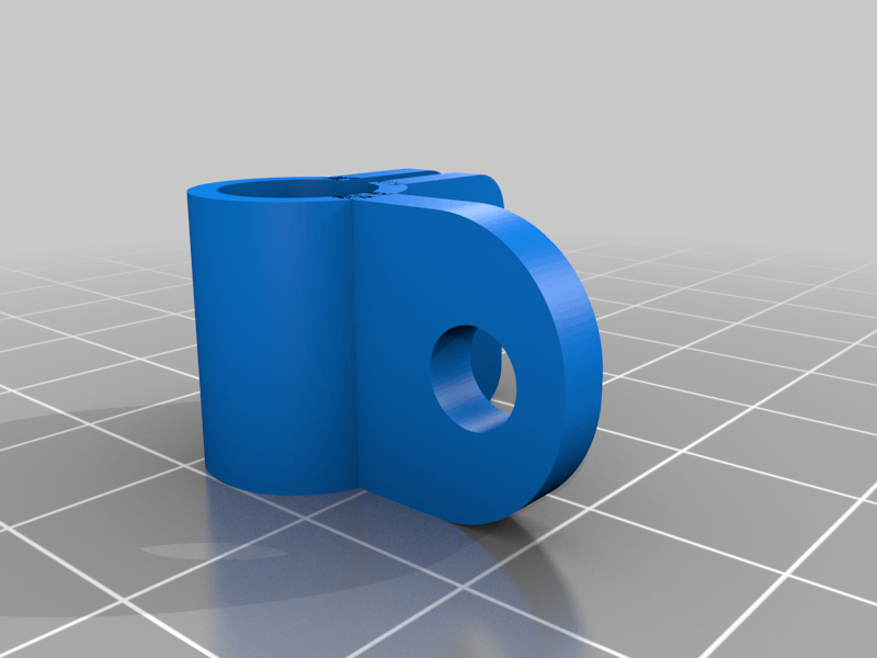Endoscope_Holder_for_Saddle_v1.png Télécharger fichier STL gratuit Support et selle d'endoscope • Design imprimable en 3D, iamsanman