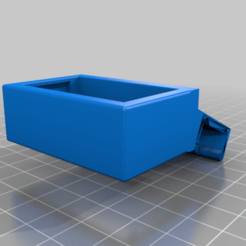 Gauge_holder_with_clip.png Download free STL file Temp/Humidity Gauge Clip • 3D printable model, iamsanman