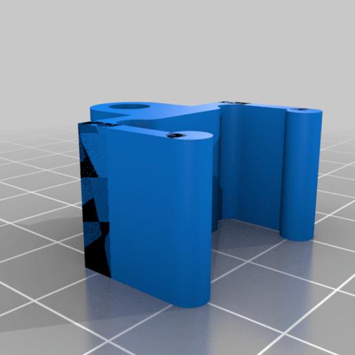 E5_-_20mm_Clip_top_Saddle_v1.png Télécharger fichier STL gratuit Support et selle d'endoscope • Design imprimable en 3D, iamsanman