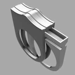 2.png Download STL file Hidden ring • 3D printing template, Nahskaved