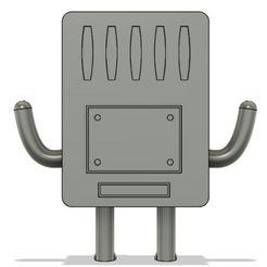 4.JPG Télécharger fichier STL BMO • Objet imprimable en 3D, Nahskaved