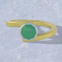 2.PNG Download STL file Split ring • 3D printable design, Nahskaved