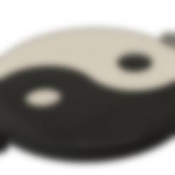 yang.stl Download free STL file yin yang • Object to 3D print, Nahskaved