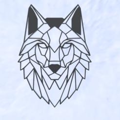 Télécharger fichier STL Sculpture de visage de loup, Nahskaved