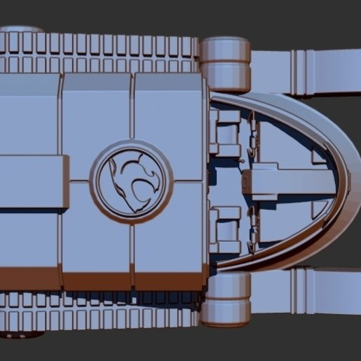 thundertank3.jpg Download free STL file THUNDERCAT'S THUNDERTANK • 3D printable design, ALTRESDE