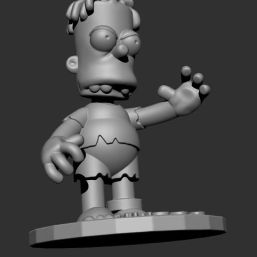 HUGO5.jpg Download free STL file HUGO SIMPSON (BART'S EVIL TWIN) • Template to 3D print, ALTRESDE