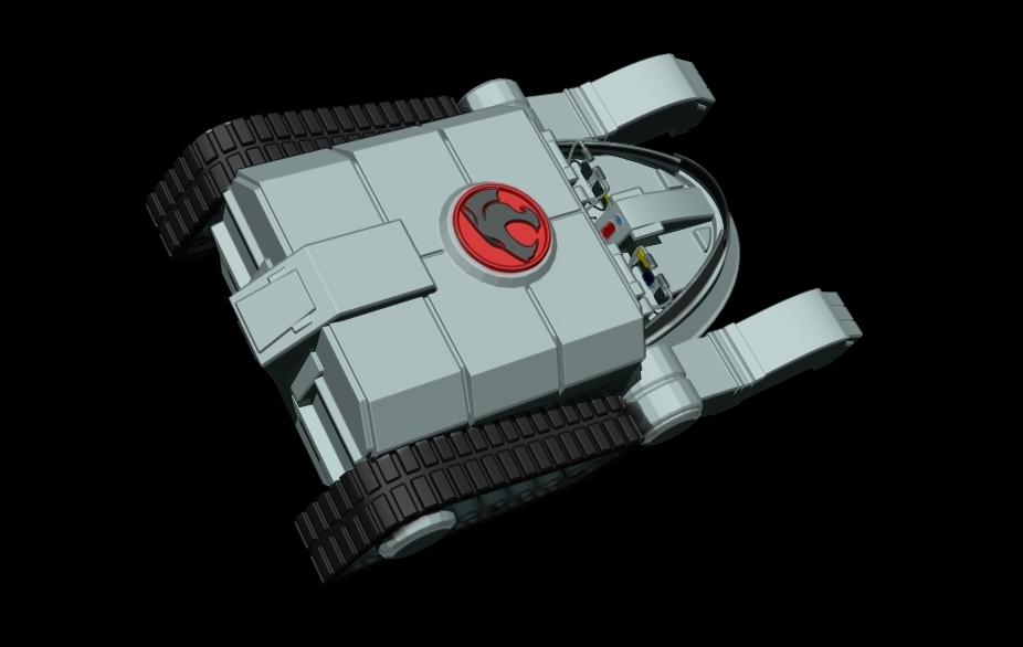 thundertank-3.jpg Download free STL file THUNDERCAT'S THUNDERTANK • 3D printable design, ALTRESDE