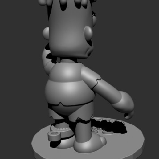 HUGO4.jpg Download free STL file HUGO SIMPSON (BART'S EVIL TWIN) • Template to 3D print, ALTRESDE