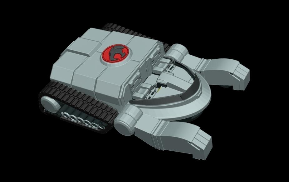 thundertank-1.jpg Download free STL file THUNDERCAT'S THUNDERTANK • 3D printable design, ALTRESDE