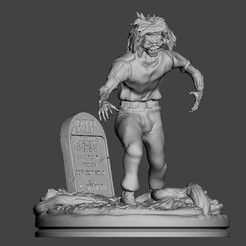 Download free STL file IRON MAIDEN LIVE AFTER DEATH EDDIE • 3D printer model, ALTRESDE