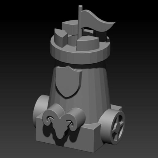 tower.jpg Télécharger fichier STL gratuit ÉCHECS MEDIEVAL • Plan pour imprimante 3D, ALTRESDE