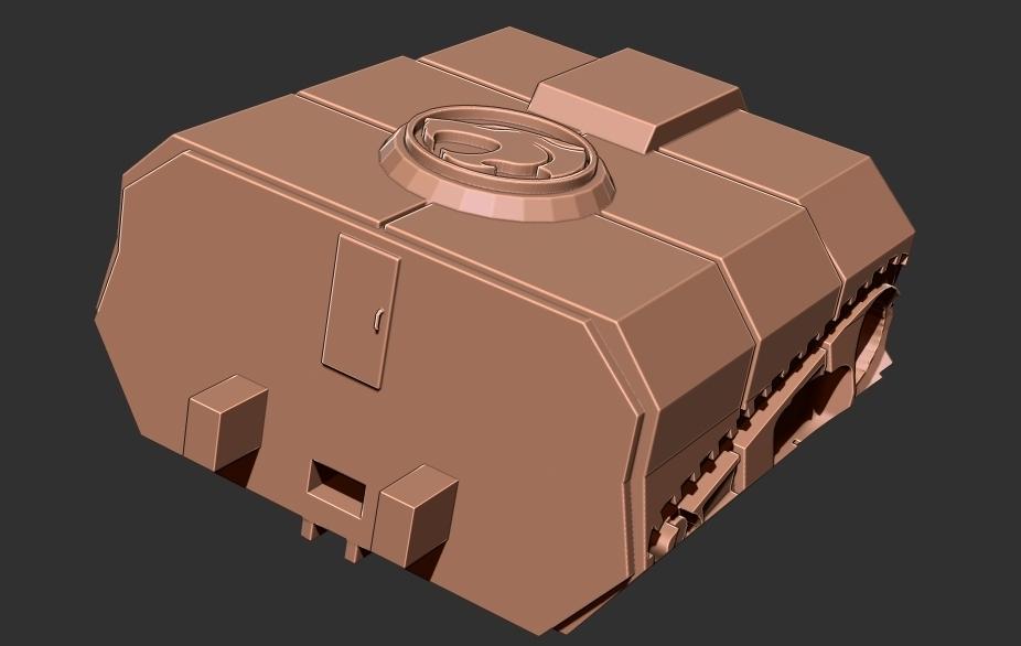 thundertank8.jpg Download free STL file THUNDERCAT'S THUNDERTANK • 3D printable design, ALTRESDE