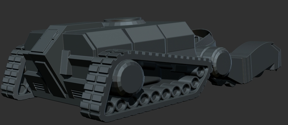 thundertank5.jpg Download free STL file THUNDERCAT'S THUNDERTANK • 3D printable design, ALTRESDE