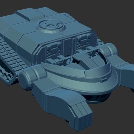 thundertank1.jpg Download free STL file THUNDERCAT'S THUNDERTANK • 3D printable design, ALTRESDE