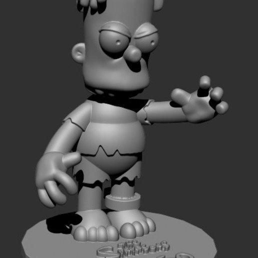 Download free 3D model HUGO SIMPSON (BART'S EVIL TWIN), ALTRESDE