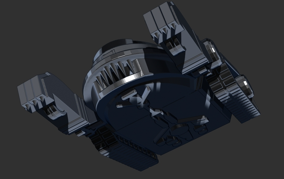 thundertank6.jpg Download free STL file THUNDERCAT'S THUNDERTANK • 3D printable design, ALTRESDE