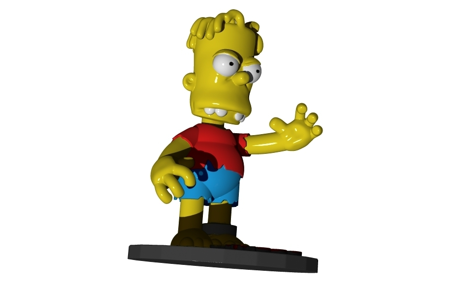 hugo-3.jpg Download free STL file HUGO SIMPSON (BART'S EVIL TWIN) • Template to 3D print, ALTRESDE