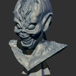 Download free 3D printer templates IRON MAIDEN VIRTUAL XI EDDIE, ALTRESDE