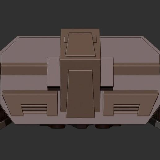 thundertank4.jpg Download free STL file THUNDERCAT'S THUNDERTANK • 3D printable design, ALTRESDE