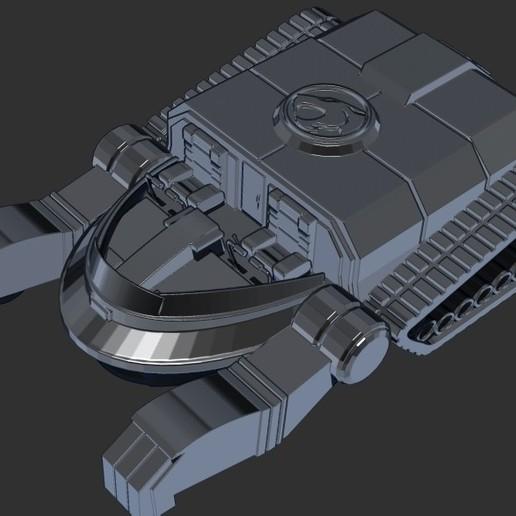 thundertank7.jpg Download free STL file THUNDERCAT'S THUNDERTANK • 3D printable design, ALTRESDE