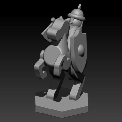 horse.jpg Télécharger fichier STL gratuit ÉCHECS MEDIEVAL • Plan pour imprimante 3D, ALTRESDE