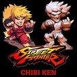Download free 3D printer designs STREET FIGHTER CHIBI KEN, ALTRESDE