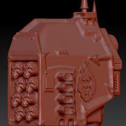 c1.JPG Télécharger fichier OBJ gratuit Le chaos redoute le lanceur de missiles • Design pour impression 3D, snailtankp1