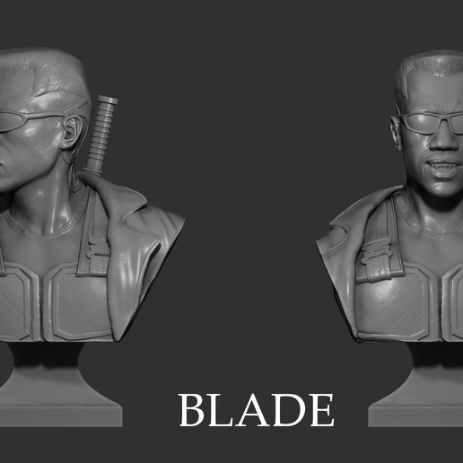 Download STL file Bust Blade - 3D Print • 3D printable model, mikaelmarlon1