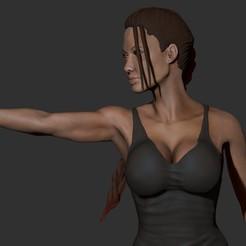 Download 3D printing templates Lara Croft 3D Print, mikaelmarlon1