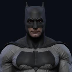 bust.jpg Download STL file Bust Batman - 3D Print • 3D printer design, mikaelmarlon1