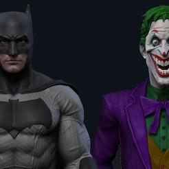 27.jpg Download STL file Batman and Joker • 3D printable template, mikaelmarlon1