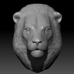 lion1.jpg Download free STL file Lion keychain 3D Print • 3D printer design, mikaelmarlon1