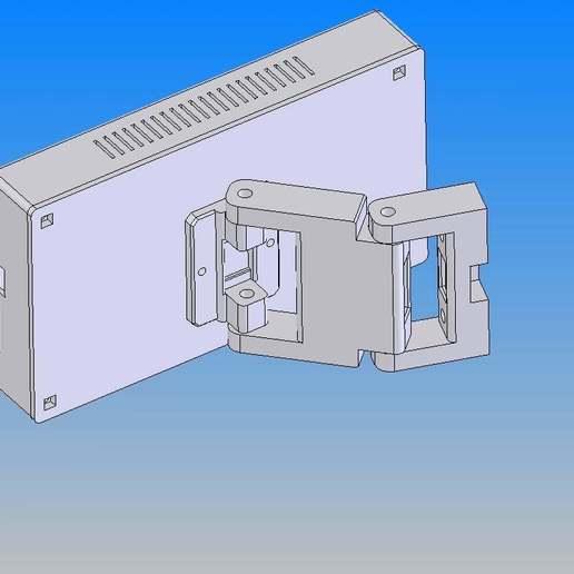 MKS_TFT_70_1.jpg Télécharger fichier STL gratuit Écran MKS TFT70 Cover Gehäuse • Design à imprimer en 3D, Leon75