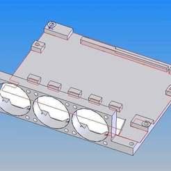 Télécharger fichier 3D gratuit MKS SGEN 32Bit Grundplatte, Halteplatte, Gehäuse, Holder,Plate,case, Leon75