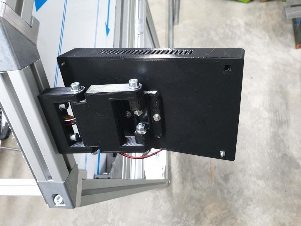 Rückansicht.jpg Télécharger fichier STL gratuit Écran MKS TFT70 Cover Gehäuse • Design à imprimer en 3D, Leon75
