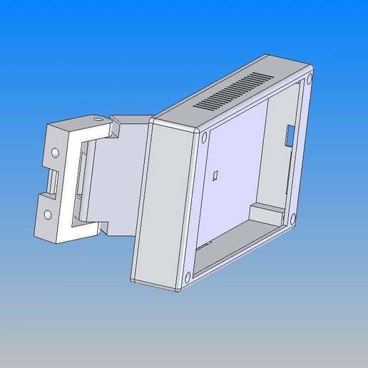 MKS_TFT_70.jpg Télécharger fichier STL gratuit Écran MKS TFT70 Cover Gehäuse • Design à imprimer en 3D, Leon75